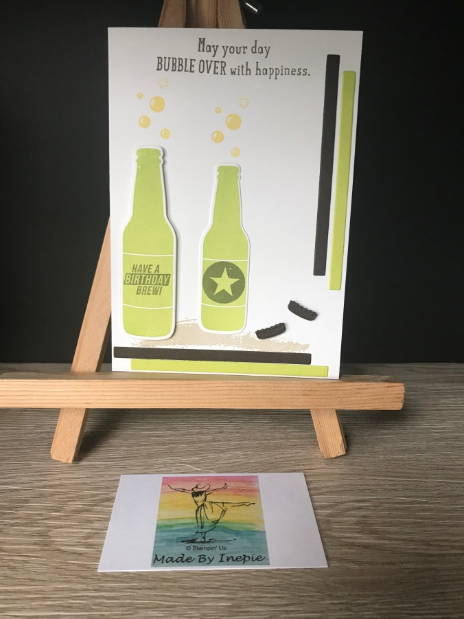 Stampin'Up! Bottles & Bubbles