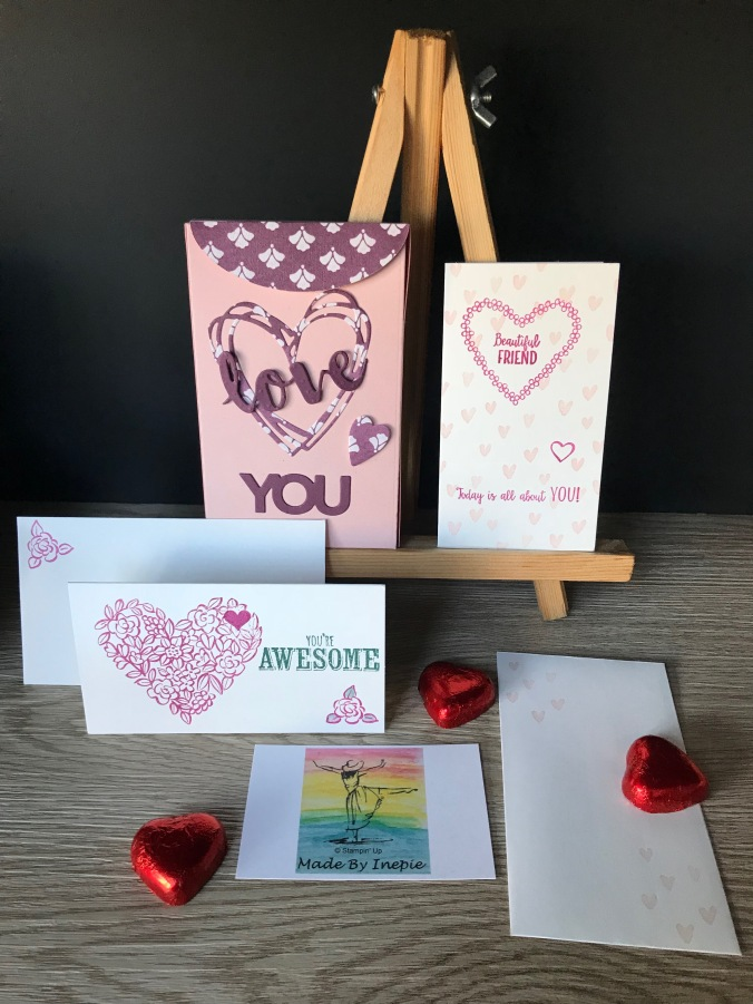 Stampin'Up! Lots to Love Box framelits Dies