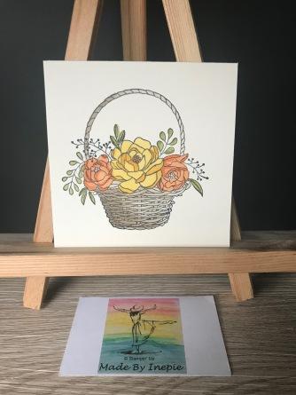 Stampin'Up! Blossoming Basket