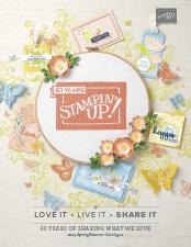 Stampin' Up! Spring summer catalogue 2019