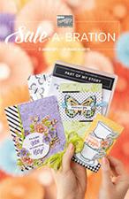 Stampin' Up! Sale-a-bration folder