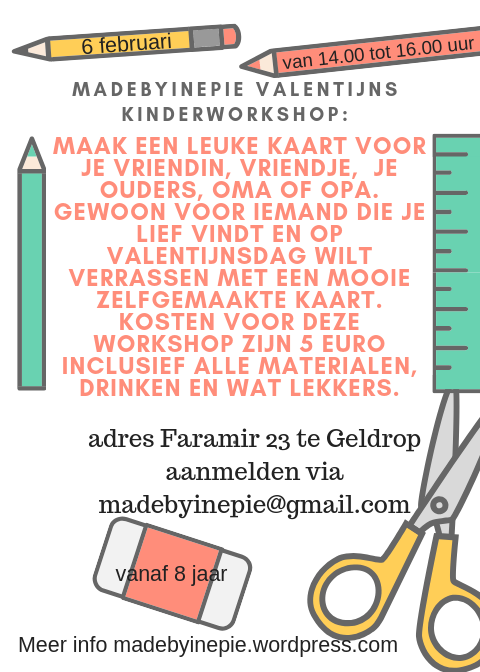 valentijnsdag workshop