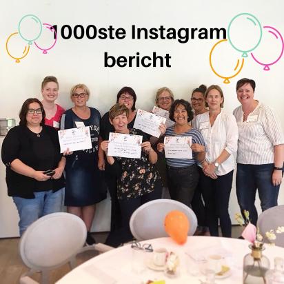 1000ste Instagram bericht