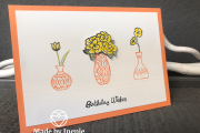 Vibrant Vases Stampin' Up!