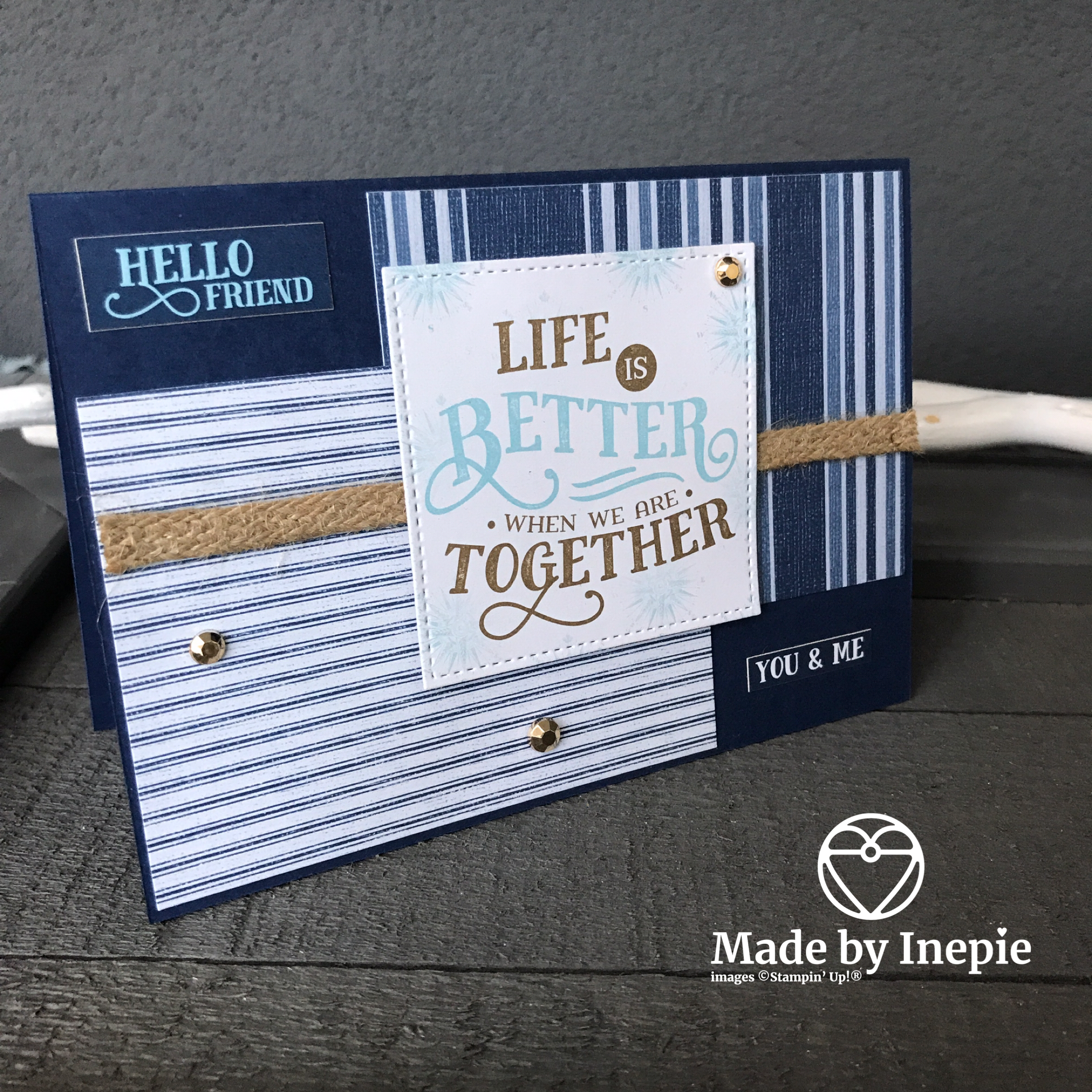 COME SAIL AWAY MEMORIES & MORE CARD PACK by Stampin' Up!