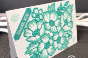 Stampin' Up! Many Layered Blossoms Dies