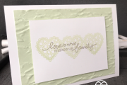 Lovely You Stampin' Up! Old World Paper