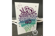 Stampin' Up! Banner Blooms