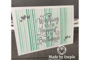 Happiest Of Birthdays Stampin' Up!