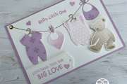 Stampin' Up! All For Baby