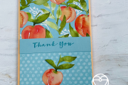 Stampin' Up! You're a Peach dsp